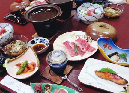 女将の田舎料理が人気